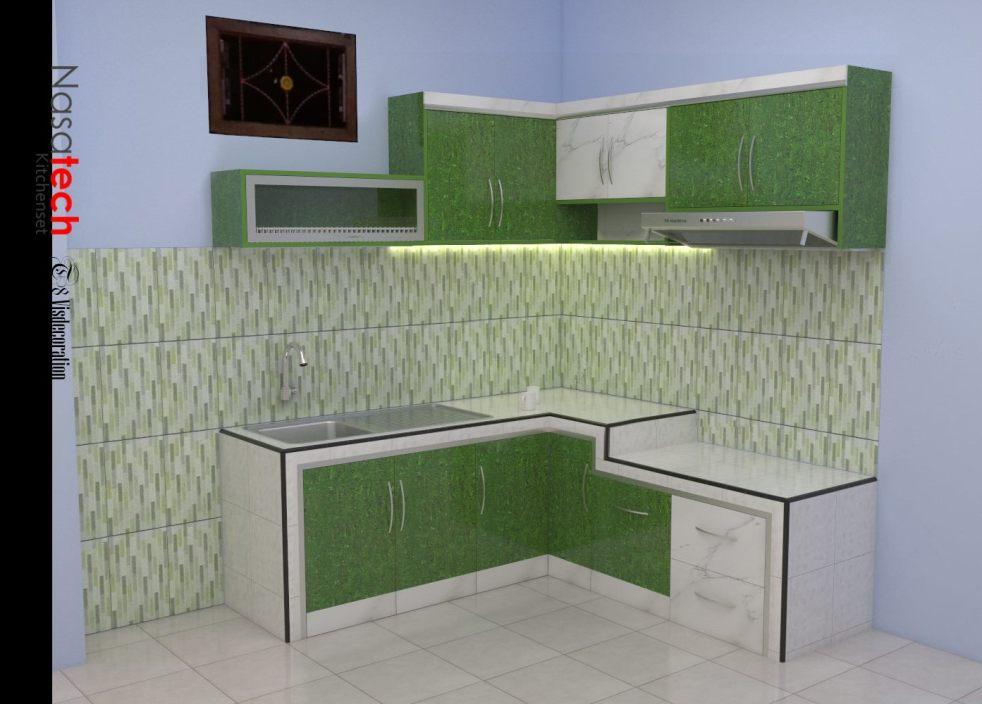 Desain Rak Dapur Minimalis Kitchen Set Malang Kitchen Set